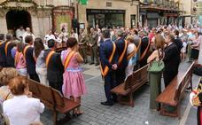 La calle Ancha acoge la tradicional misa en honor a San Juan