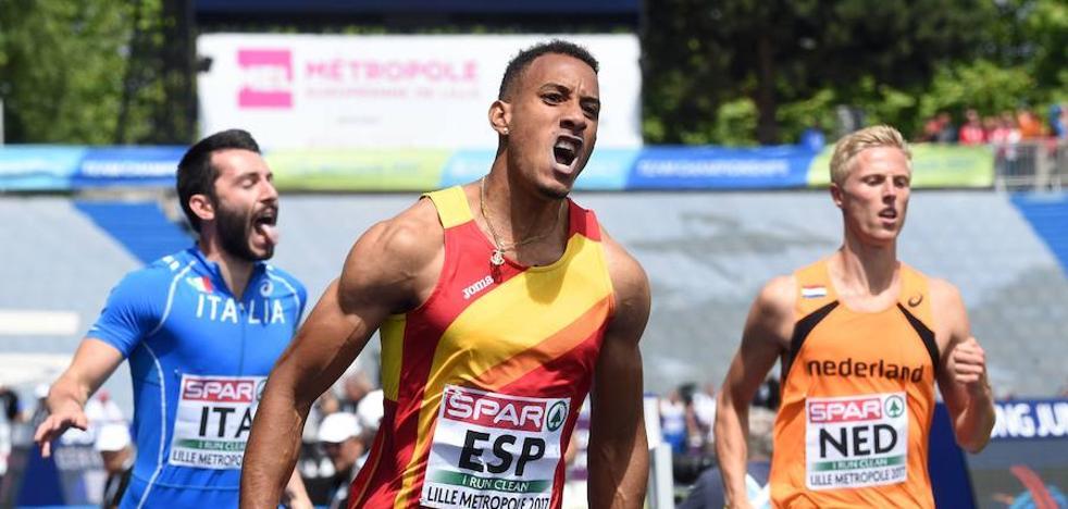 El atletismo español brilla en la Eurocopa de Lille