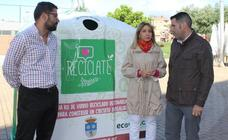Ecovidrio entrega un euro por cada kilo de vidrio reciclado en San Andrés del Rabanedo