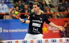 El número 2 del mundo Paquito Navarro clausura el I Torneo Pádel Masters León