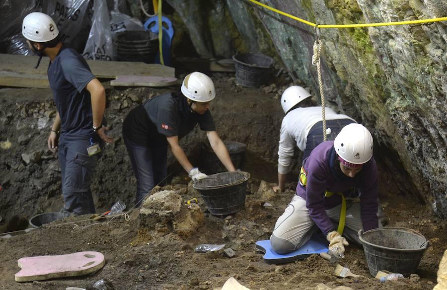 Visita a los yacimientos de la sierra de Atapuerca