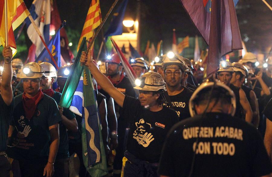 III Marcha Negra. 22 junio-11 julio 2012