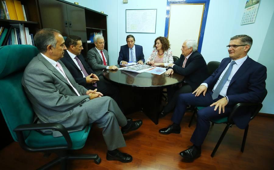 Sáez Aguado se cita con la alcaldesa de Ponferrada
