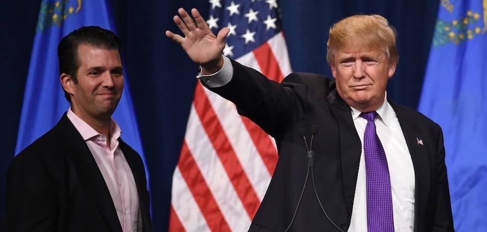 Donald Trump Jr. afirmó por e-mail que le «encantaría» recibir datos comprometedores sobre Clinton