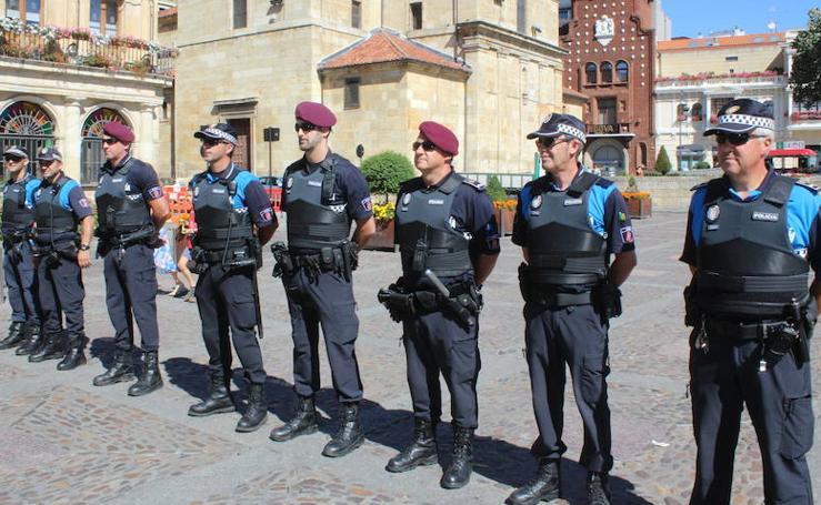 Una Policía equipada