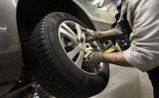 Más de un millón de coches circula con defectos graves en las ruedas