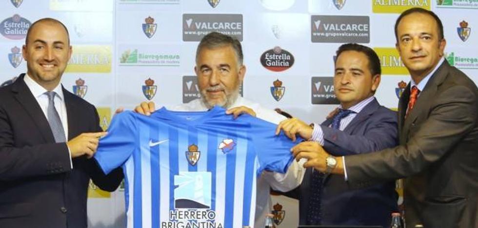 La Ponferradina presenta su nueva camiseta para esta temporada