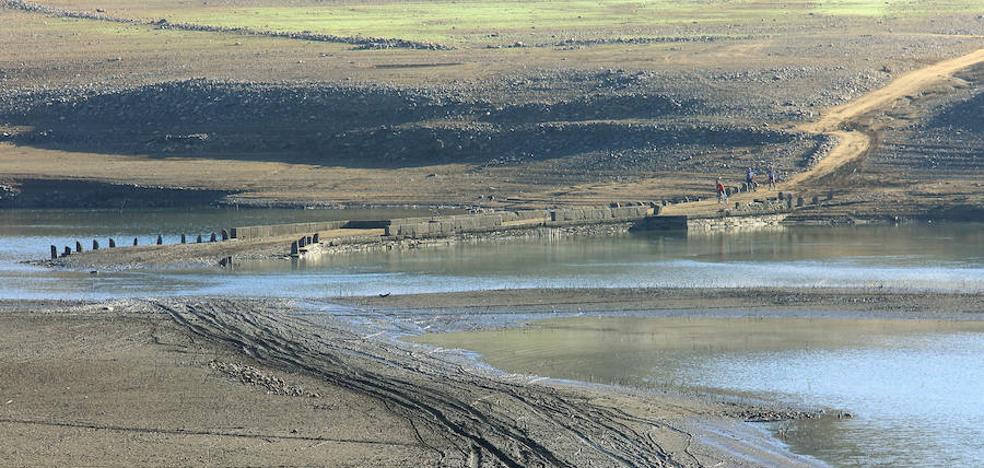Los embalses del Duero están al 44% de su capacidad, 41 puntos por debajo de los niveles de hace un año