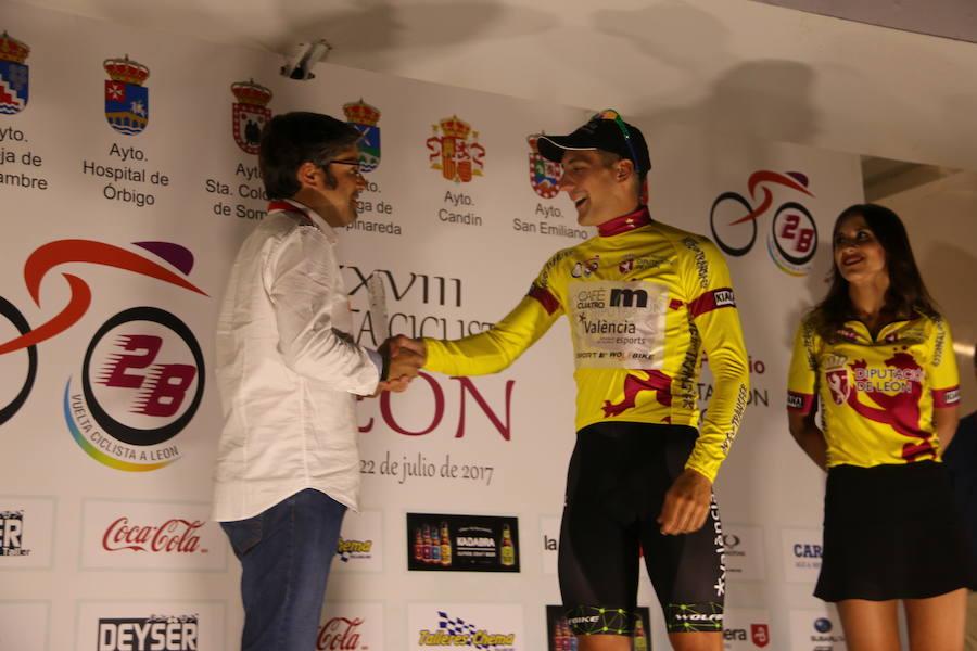 Primera etapa de la Vuelta a León