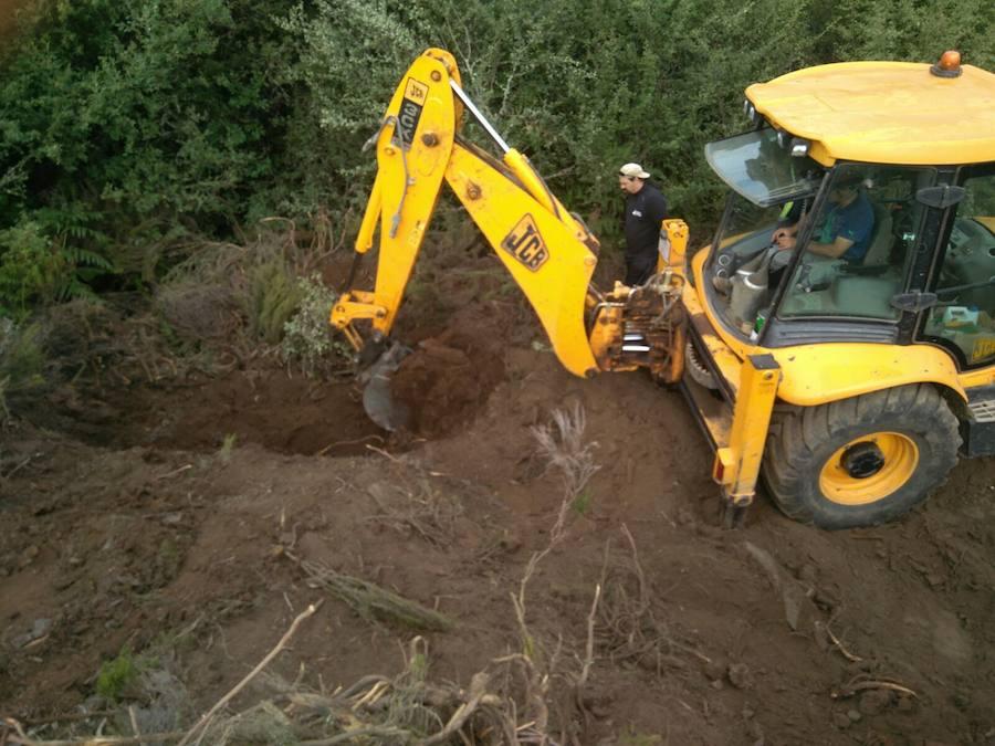 La ARMH reanuda la búsqueda de fosas en Brañuelas y Torre