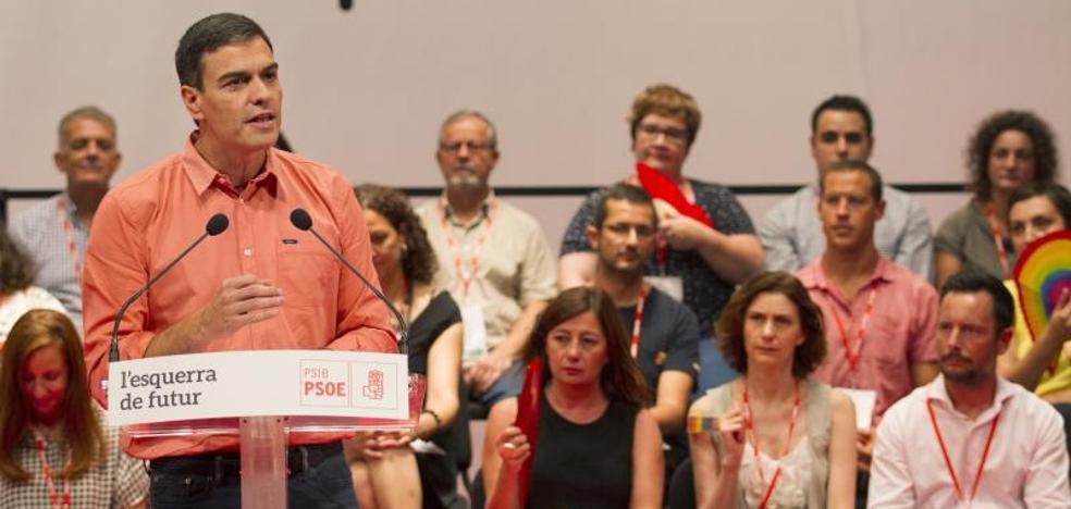 Sánchez: «La crisis territorial no se resuelve con amenazas por tierra, mar y aire»