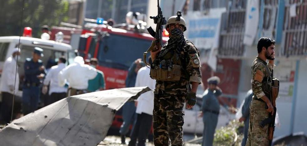 Al menos 35 muertos en un atentado suicida en Kabul