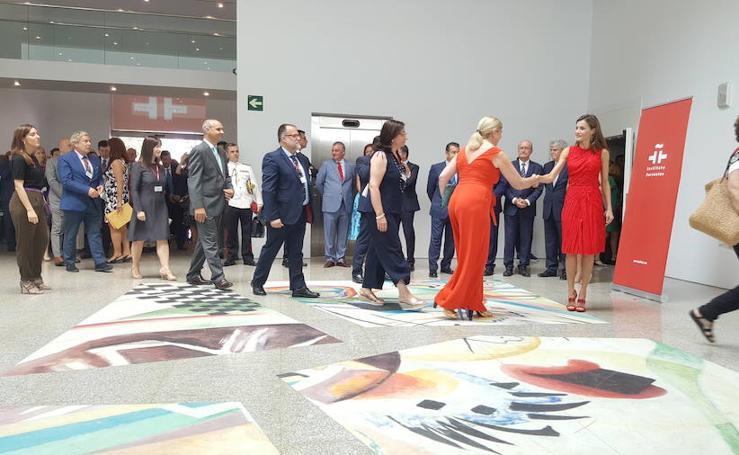 La visita de la reina Letizia a Málaga, en imágenes