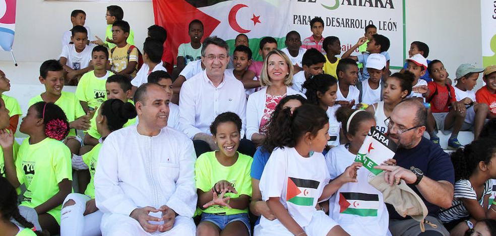 La «solidaridad» permite a 44 niños saharauis pasar el verano en la provincia de León