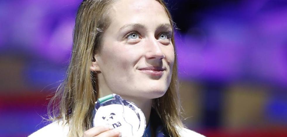 Mireia Belmonte, plata en los 1.500