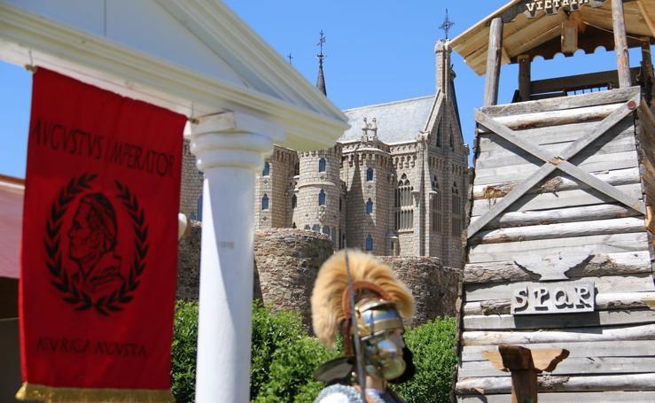 Astures y Romanos campan por Astorga