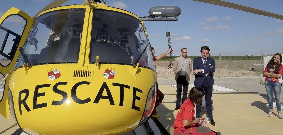 Grupo de Rescate y Salvamento, la ayuda llega del cielo