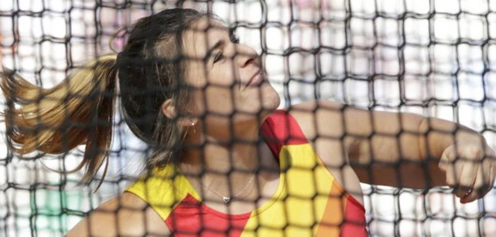 Sabina Asenjo, eliminada en disco con un lanzamiento 57 metros