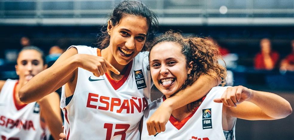 Un espectacular triple de Paloma González da la victoria a España y le permite seguir peleando por el quinto puesto del Mundial