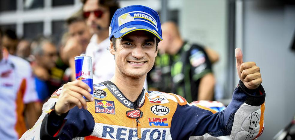 Pedrosa: «Estoy contento con este podio y orgulloso de mi equipo»