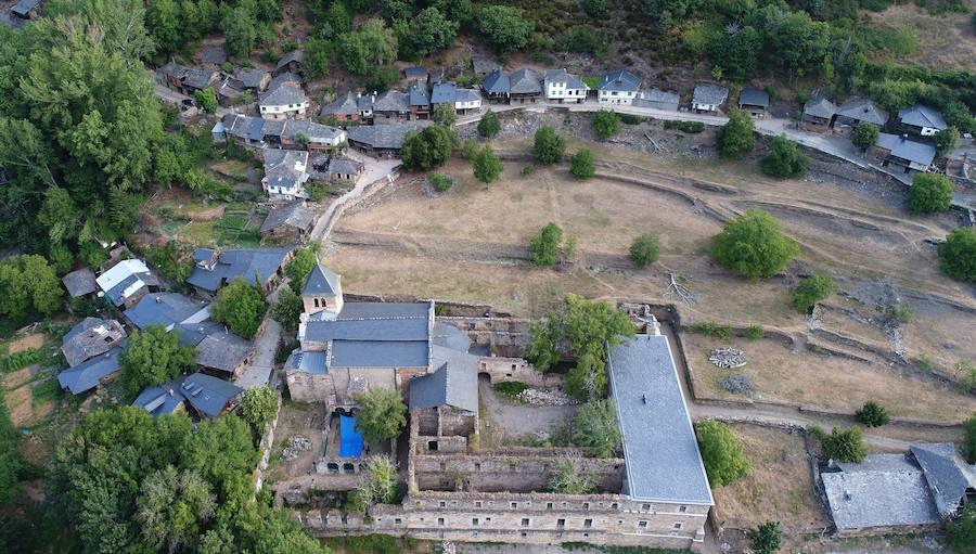 Excavaciones arqueológicas en el monasterio de Montes