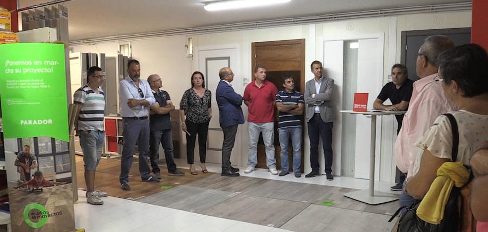 Hergadi Gamma celebra 40 años en el sector con la inauguración de una completa exposición en su sede de Matallana de Torio