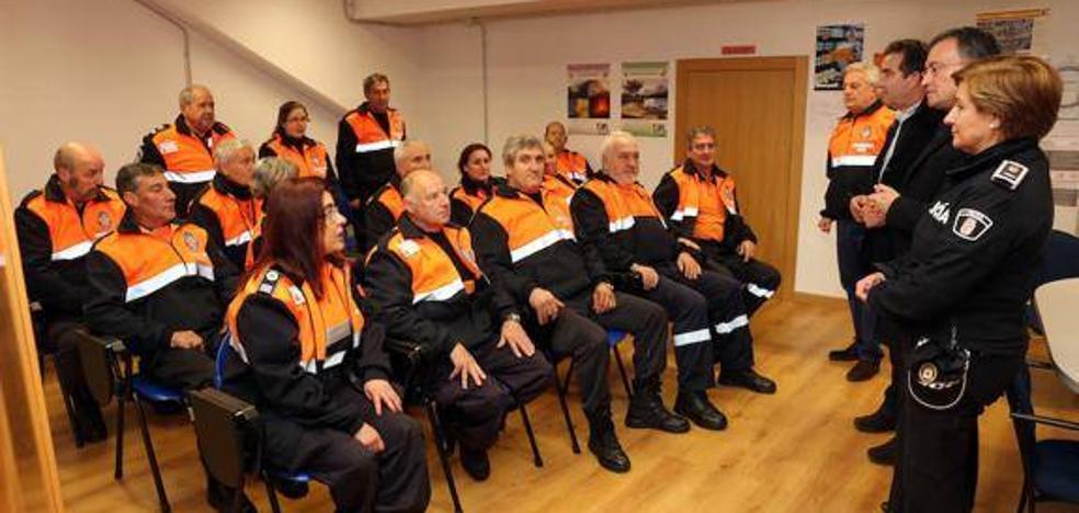 La Junta imparte 22 cursos de formación de voluntarios de protección ciudadana durante el primer semestre del año