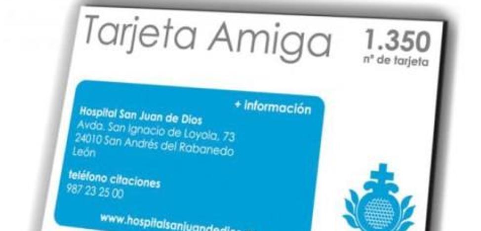 El Hospital San Juan de Dios ofrece una tarjeta de fidelización gratuita con múltiples ventajas