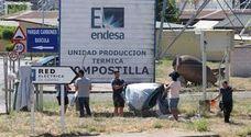 Los empleados de Astur Leonesa retomarán las concentraciones ante la térmica de Compostilla