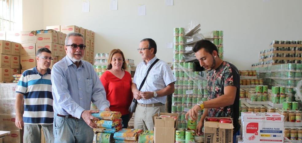 El Ayuntamiento cubre las necesidades básicas de alimentación de más de 3.500 personas en el primer semestre de 2017