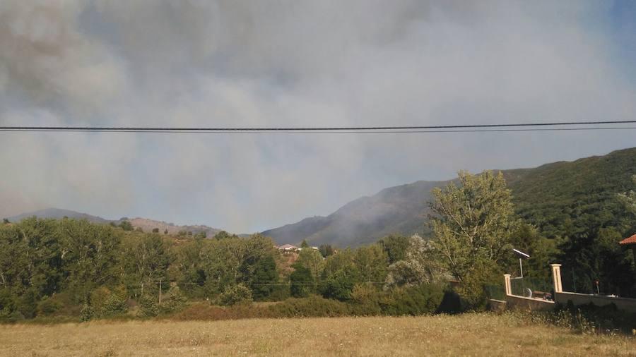 Incendio en Otero de Curueño
