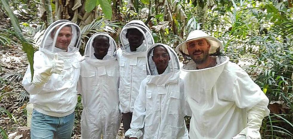 Miel africana con 'know-how' del Bierzo