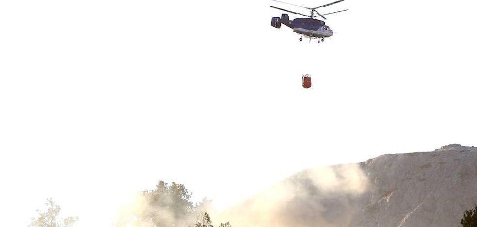 Controlado el incendio que alcanzó el nivel 1 en Villalfeide
