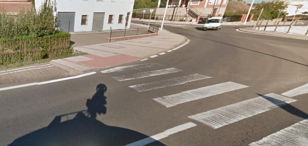 Herido un ciclista tras colisionar con un turismo en Carrocera