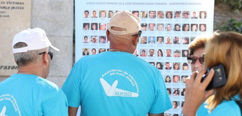 Víctimas de Spanair piden que se desclasifiquen los documentos del accidente