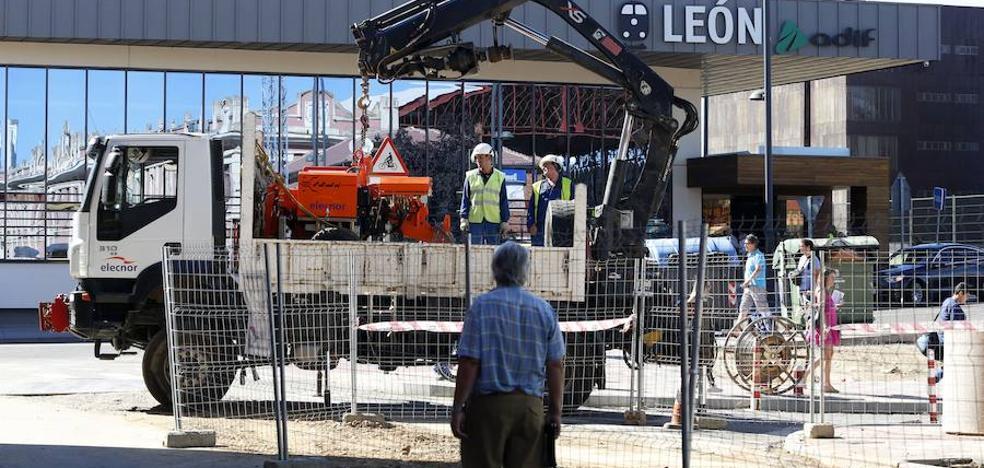 León invierte 2,4 millones en 4,4 kilómetros de red de saneamiento para favorecer la integración del tren
