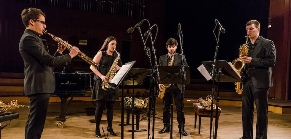 'Corteza de Encina' recibe a Espectre Quartet