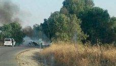 Un camionero leonés fallece tras arder su vehículo en Sevilla
