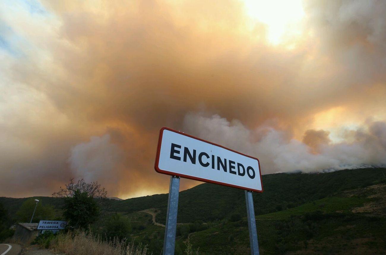 Incendio en Losadilla