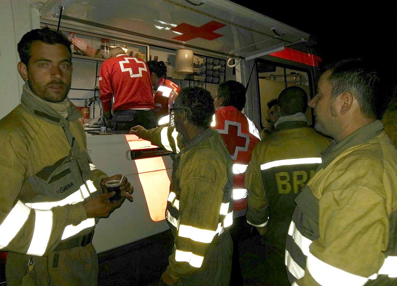 El apoyo de Cruz Roja