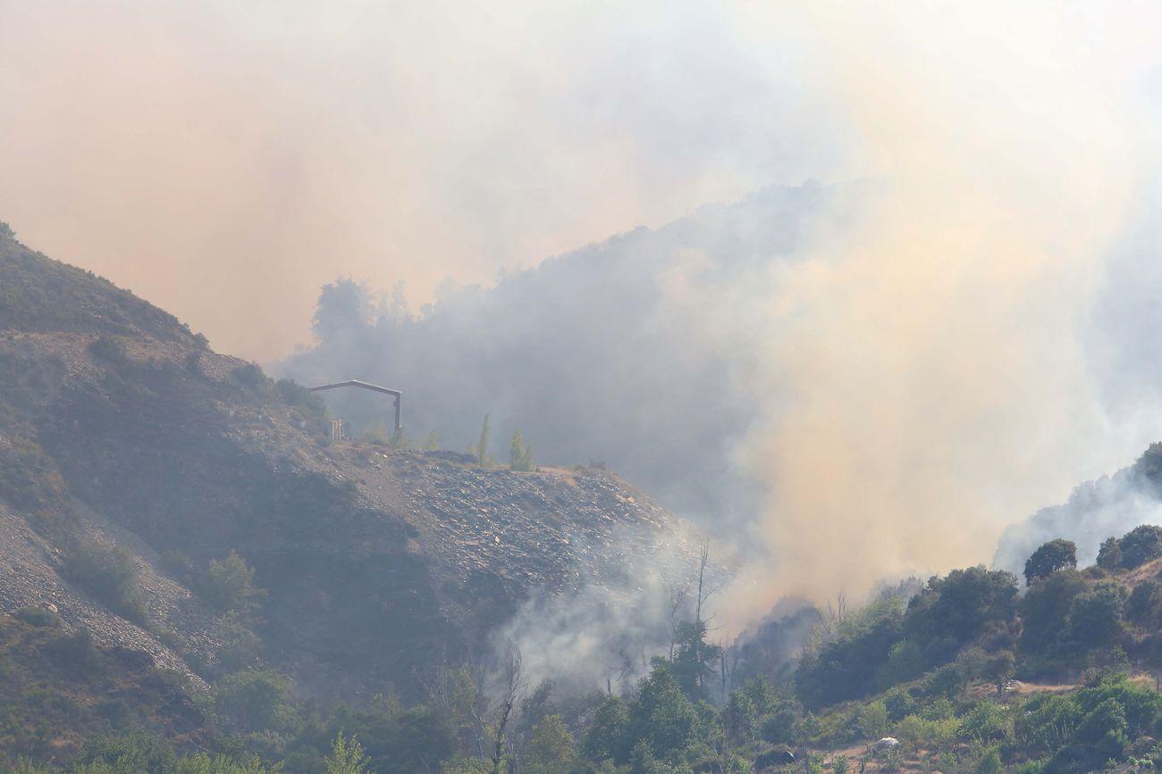 Las imágenes del fuego