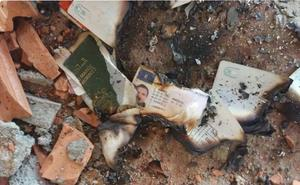 Quema de documentos para entregarse al Estado Islámico