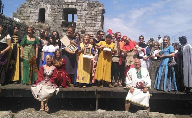 Las Justas Medievales y la Festa da Istoria estrechan lazos a través de Las Damas del Passo Honroso