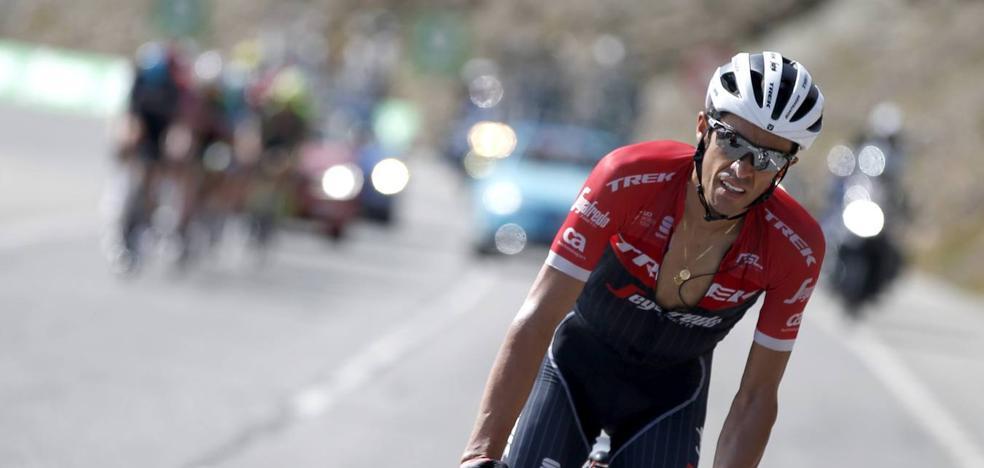 Contador: «El podio no es imposible»