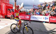 Contador se retira y deja su sello dos veces en León