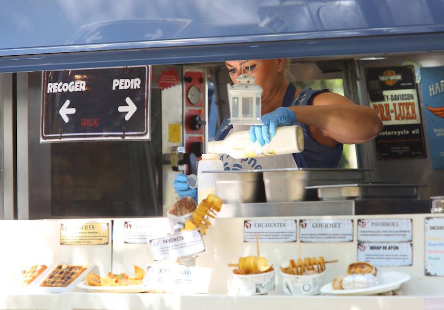 Las foodtrucks triunfan en Ponferrada