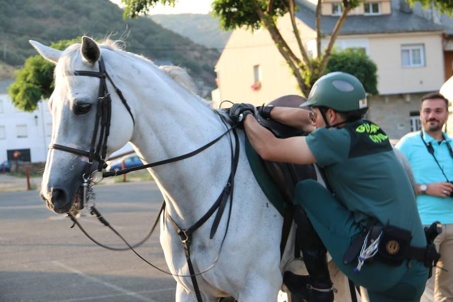 El caballo, mejor amigo de la Guardia Civil