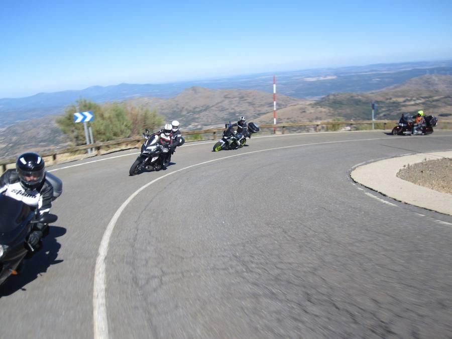 Octava ruta de los puertos 2017 moto club Froilanes Virgen del Camino