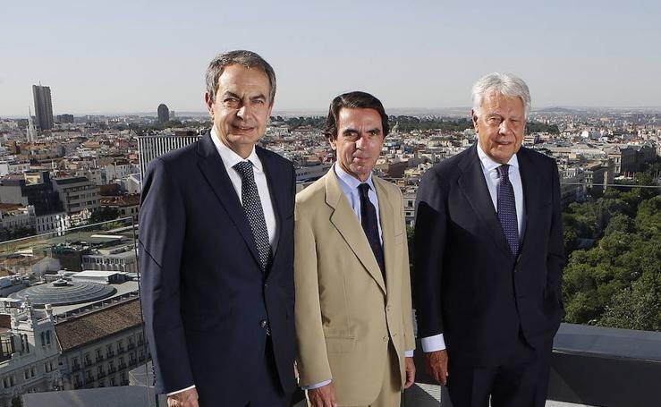 Vocento reúne a tres expresidentes del Gobierno