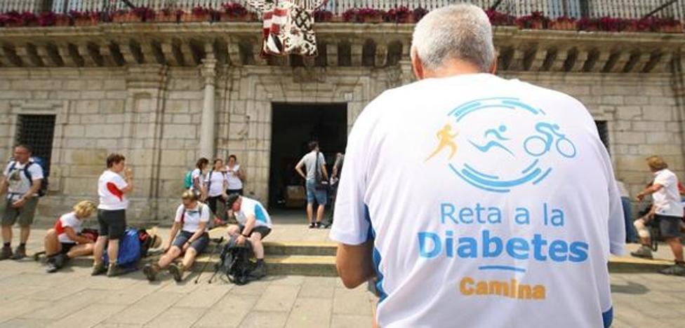 Un ponferradino con diabetes participa en el reto 'Rueda por la diabetes al Mont Blanc'